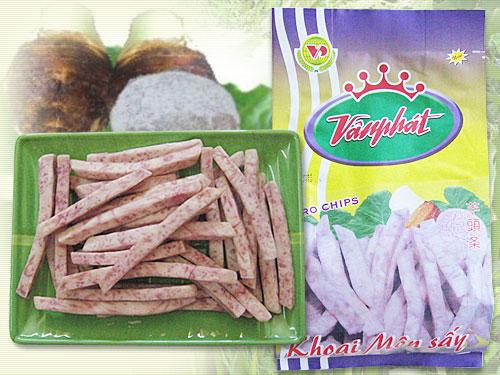 Khoai tây sấy hộp - Khoai môn sấy